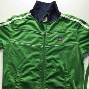 Levi's Vintage Zip Up Track Jacket Green Small